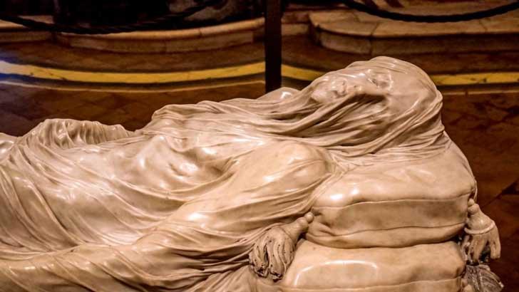 Estatua Cristo Velado