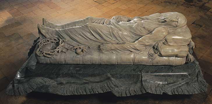 Estatua de Cristo Muerto