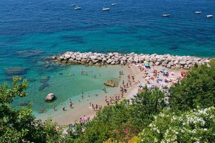 Playas de Capri