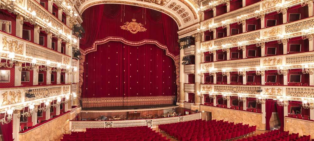 Nápoles Teatro de San Carlos