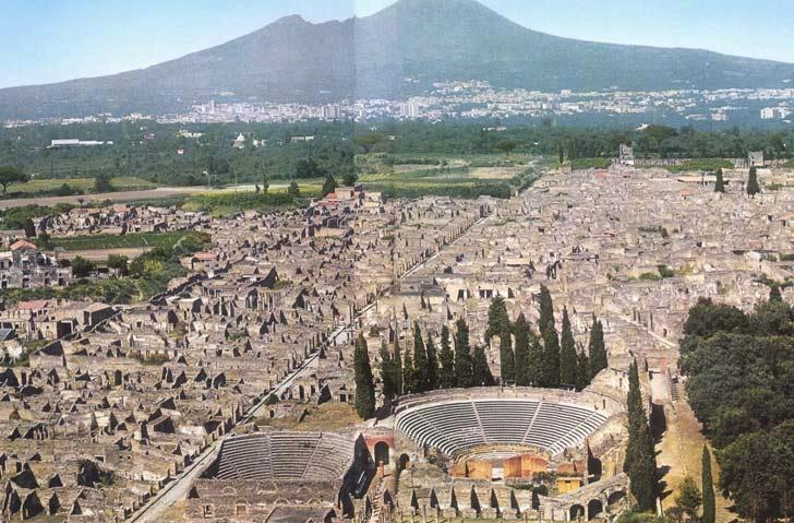 Viajar a Pompeya